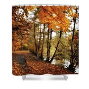 River Views Shower Curtain