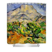 Road To The Montagne Sainte-victoire Shower Curtain