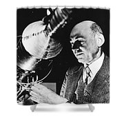 Robert Hutchings Goddard Shower Curtain