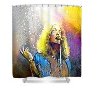 Robert Plant 02 Shower Curtain