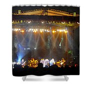 Rock Concert Shower Curtain