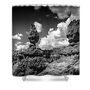 Rock Formations Of Bryce Canyon Shower Curtain