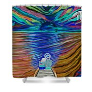 Rockers Island Shower Curtain