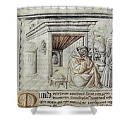 Roger Bacon (1214?-1294) Shower Curtain
