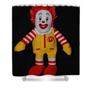 Ronald Mcdonald Shower Curtain