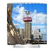 Roosevelt Island Tram Shower Curtain