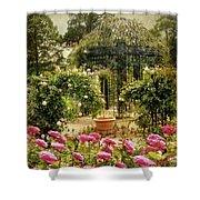 Rose Arbor Shower Curtain