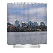 Rosslyn Skyline Shower Curtain