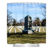 Rough Riders Shower Curtain
