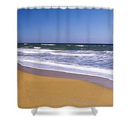 Route A1a, Atlantic Ocean, Flagler Shower Curtain