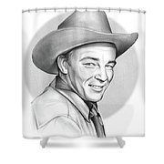 Roy Rogers Shower Curtain
