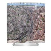 Royal Gorge Bridge Shower Curtain