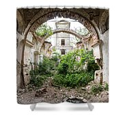 Ruins Of The Church Of St Wenceslas Shower Curtain