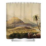 Rural Indian Landscape Shower Curtain