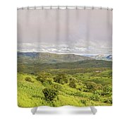 Rural Landscape In Malawi Shower Curtain