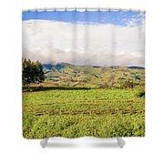 Rural Landscape Tanzania Shower Curtain