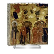Russia: Icon Shower Curtain
