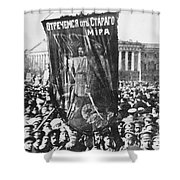 Russia: Revolution Of 1917 Shower Curtain