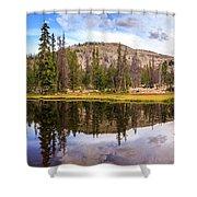 Ruth Lake Trail Shower Curtain