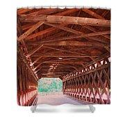Sachs Bridge Shower Curtain