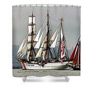 Eagle And Roseway Shower Curtain