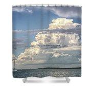 Sailing Away  Shower Curtain