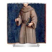 Saint Anthony Of Padua Shower Curtain