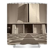 Saint Mary's Cathedral Of San Francisco Shower Curtain