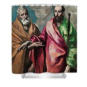 Saint Peter And Saint Paul Shower Curtain
