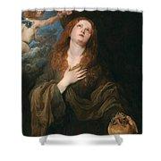 Saint Rosalie Shower Curtain