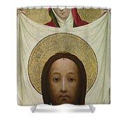 Saint Veronica With The Sudarium Shower Curtain