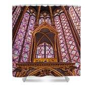 Sainte Chapelle Shower Curtain