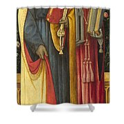 Saints Peter And Jerome Shower Curtain