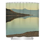 Salt Lake Reflections 3 Shower Curtain