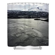Saltstraumen View Shower Curtain