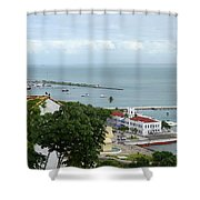 Salvador Da Bahia - Brazil Shower Curtain