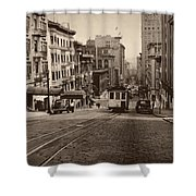 San Francisco 1945 Shower Curtain