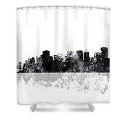 San Francisco California Skyline Shower Curtain