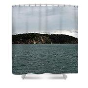 San Juan Islands  Shower Curtain