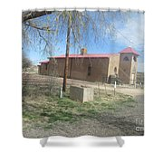 San Rafael Church Shower Curtain