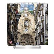 Basilica Of Saint Mary Of The Chorus - San Sebastian - Spain Shower Curtain