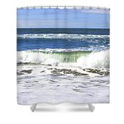 Sand And Sea 1 Shower Curtain