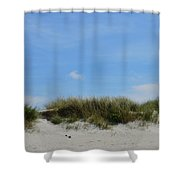 Sand Dunes At Keremma Shower Curtain