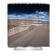 Sand Dunes Of Colorado Shower Curtain