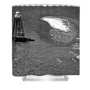 Sand Key Lighthouse Fl Shower Curtain