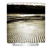 Sand Patterns. Shower Curtain