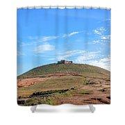 Santa Barbara Castle - Lanzarote Shower Curtain