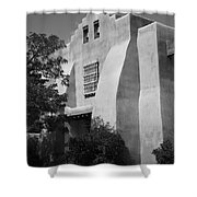 Santa Fe - Adobe Church Shower Curtain