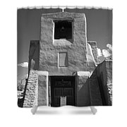 Santa Fe - San Miguel Chapel Shower Curtain