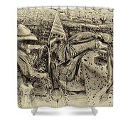 Santa Fe Cowboy Shower Curtain
